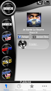 Générations hip hop rap radios- screenshot thumbnail