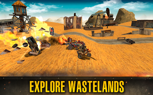 Dead Paradise: The Road Warrior 1.5.0 APK MOD screenshots 2