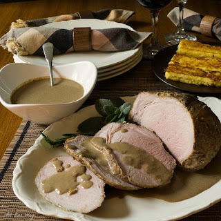 Italian Pork Roast with Milk and Fresh Herbs Recipe