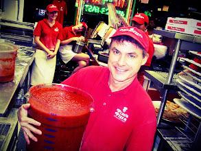 "Photo: JIm Hofman - Ocean City Maryland`s ""Pizza Sauce Boss"" for 22 years."