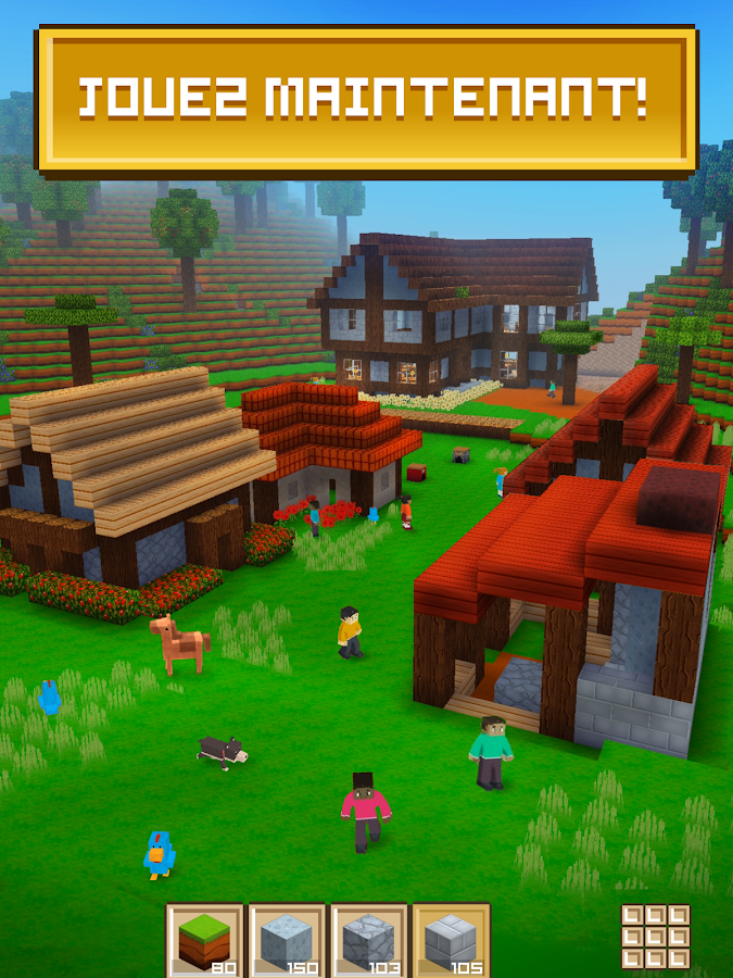 Block craft 3d jeux gratuit de construction applications android sur google play - Jeux sur info gratuit ...