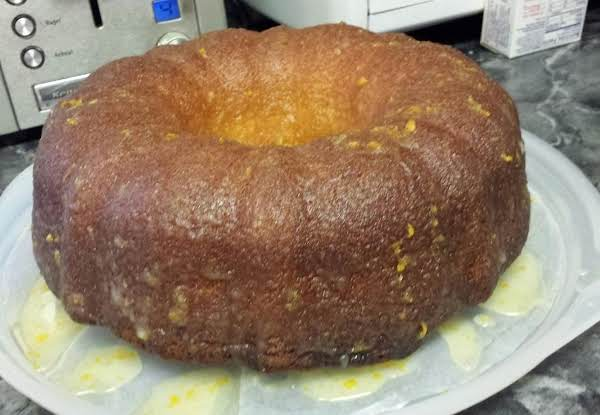 Orange Glazed Citrus Pound Cake Recipe