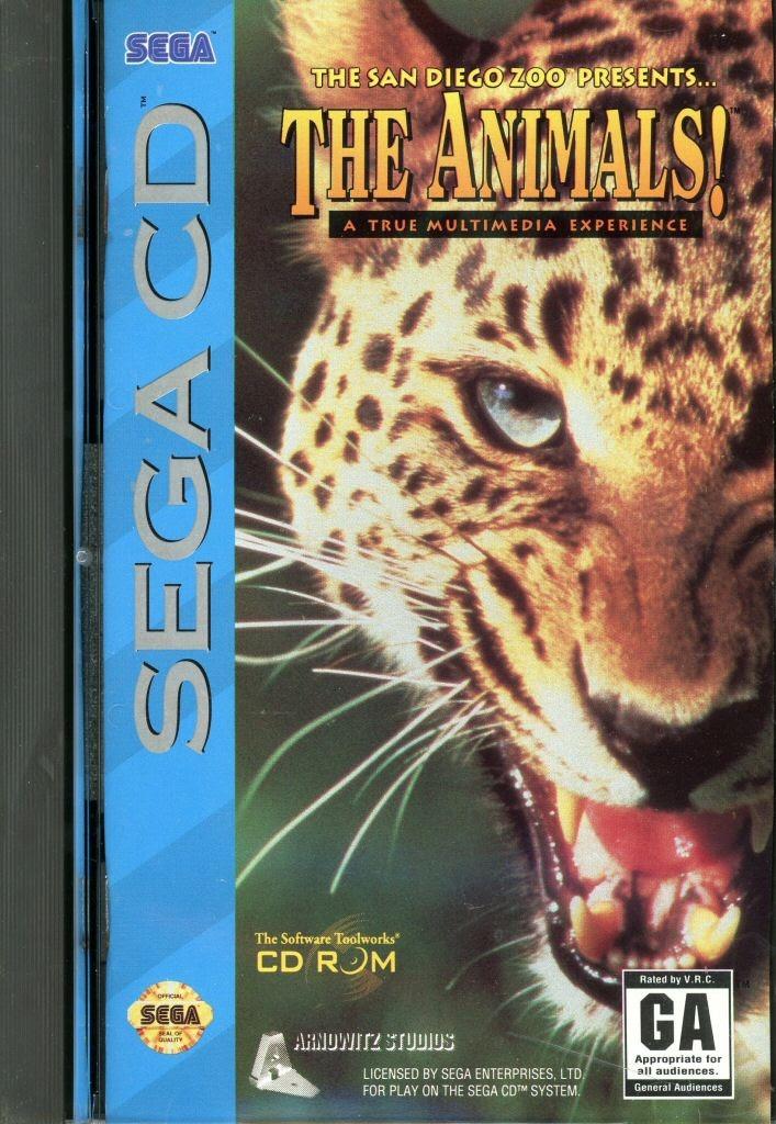 Video game:Sega CD The San Diego Zoo Presents: The Animals