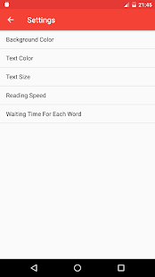 Speed Reading- screenshot thumbnail