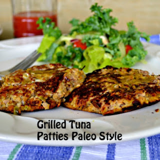 Paleo Tuna Patties.