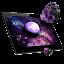 دانلود Asteroids 3D live wallpaper اندروید