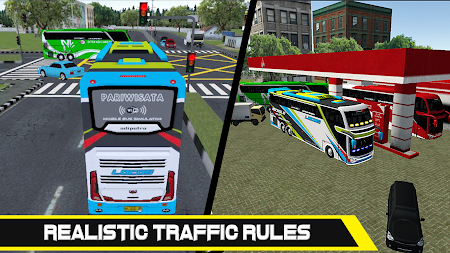 Mobile Bus Simulator APK screenshot thumbnail 3