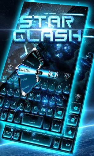 Star Clash GO Keyboard Theme