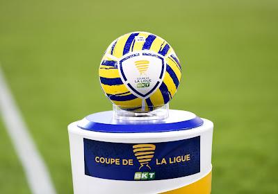 Il y aura un choc en seizièmes de finale de la Coupe de la Ligue en France