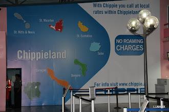 Photo: Mapa en la pared del aeropuerto