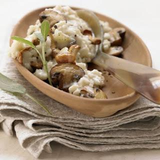 Smarter Risotto with Mushrooms Recipe