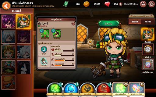 Pandora Hunter : u0e40u0e01u0e21u0e01u0e23u0e30u0e14u0e32u0e19 x u0e19u0e31u0e01u0e25u0e48u0e32u0e2au0e21u0e1au0e31u0e15u0e34 1.4.4 screenshots 10