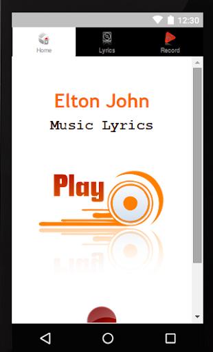 Elton John Lyrics