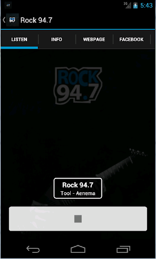 Rock 94.7 WOZZ