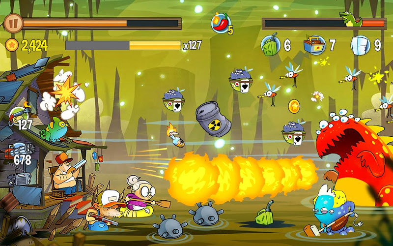 Swamp Attack Screenshot 14