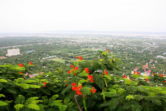 Photo: Year 2 Day 55 - Another View from the Top of Mandalay Hill