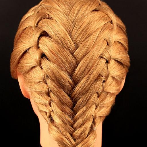 Уроки плетения кос 遊戲 App LOGO-硬是要APP