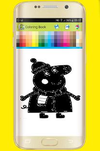 Download Coloring Book For Peppa Pig PC Windows And Mac Apk Screenshot 9