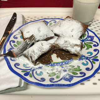 Chocolate Filled Beignets