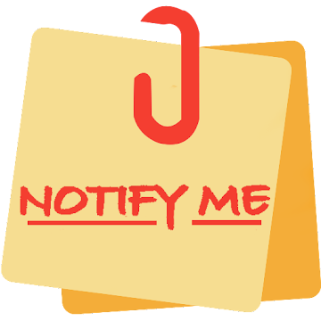 NotifyMe - Notes, Reminders and Birthdays