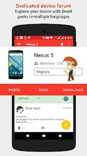 Droid Hub: Forums for Android™- screenshot thumbnail