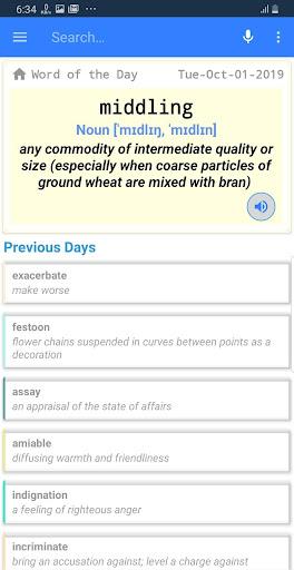 English Dictionary - Offline 26.0 screenshots 1