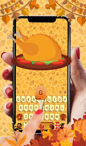 Download Happy Thanksgiving Keyboard Theme MOD APK 3