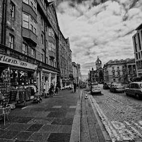 Street of Edinburgh by Alva Priyadipoera - City,  Street & Park  Street Scenes