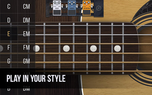 Real guitar - guitar simulator with effects 1.7.1 screenshots 3
