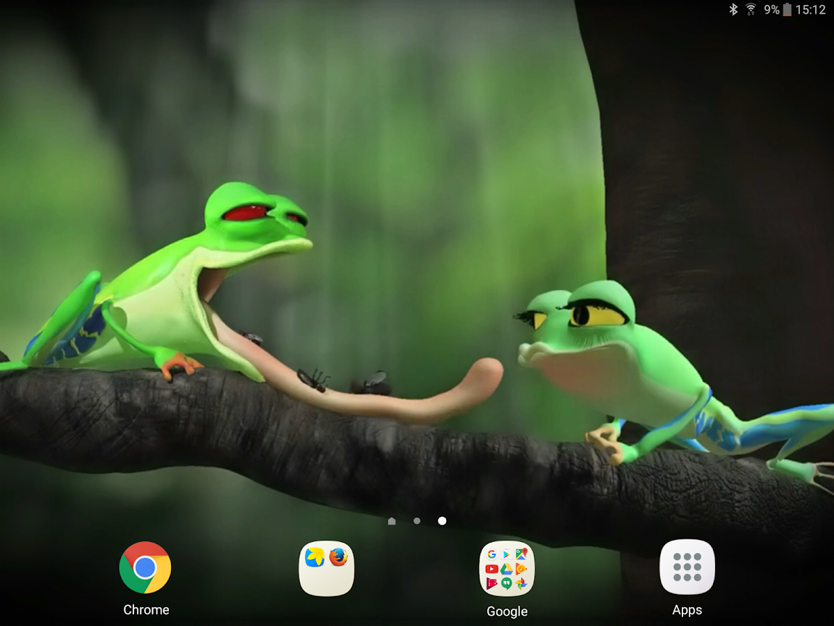 funny frog live wallpaper android apps on google play