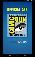Screenshot of Official Comic-Con App