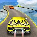 Mega Ramp Stunt Car Impossible Tracks Racing Game icon