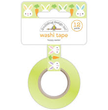 Doodlebug Washi Tape 15mmx12yd - Hoppy Easter