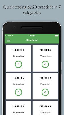 TOEIC Test: Improve your score - screenshot