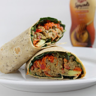 Hummus Wraps Lunch Recipes