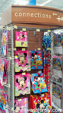 Photo: After I grabbed the decorations I couldn't help but stop to look at all of the great gift wrap ideas from Hallmark. I picked up a few Minnie bags knowing I'd need some for my daughter.
