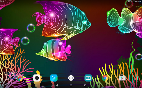 Neon Fish Live Wallpaper 5