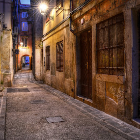 by Mara R. Sirako - City,  Street & Park  Neighborhoods ( piran, old, building, europe, street, tourism, travel, architecture, historic, city, history, urban, winter, slovenija, pirano,  )