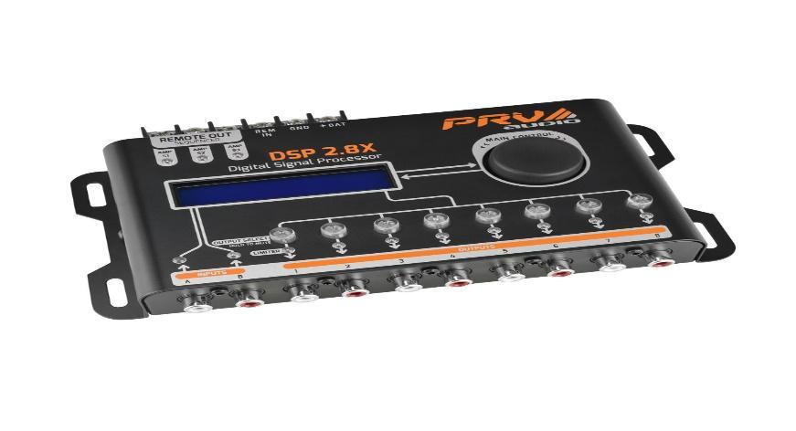 DSP 2.8X - 8 Channel Digital Signal Processor PRV Audio