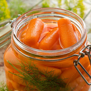 Marinated Carrot.
