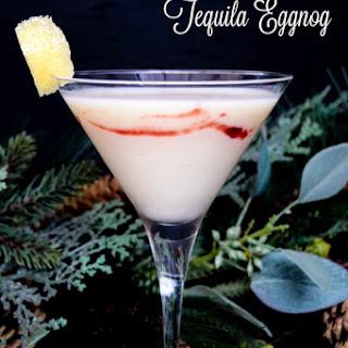 Lemon Twist Tequila Eggnog.