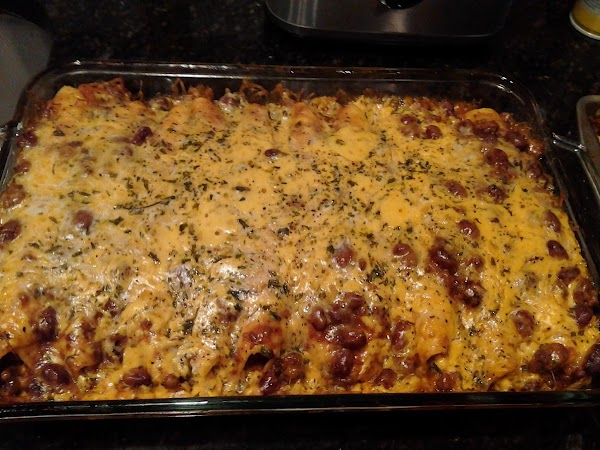 Cheesy Chili Dog Casserole Recipe