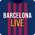 Barcelona Live: Unofficial App for football fans icon
