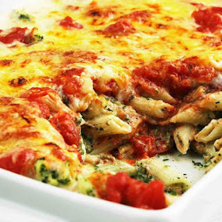 Spinach and Ricotta Bake.