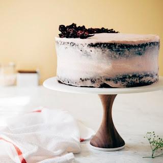 A Naked Hibiscus Chocolate Cake.