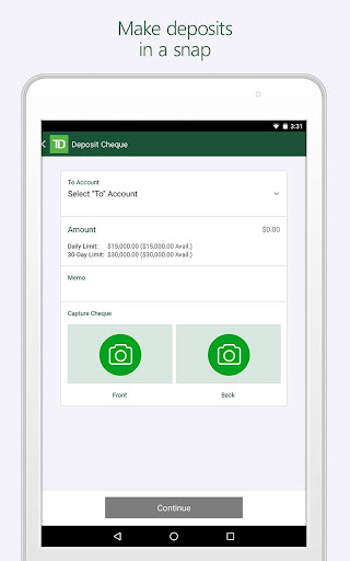 TD Canada App Report on Mobile Action - App Store