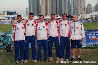 Photo: L'équipe de PAV homme  @ Dubaï, WPC 2012