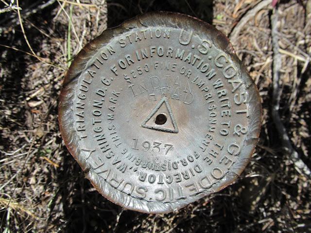 Indian Head survey marker