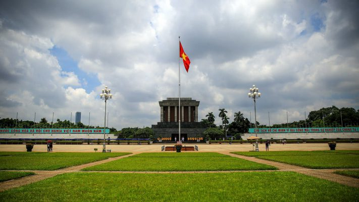 Ba Dinh Square - Ho Chi Minh Mausoleum
