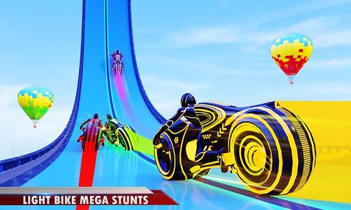 Mega Ramp Light Bike Stunts: New Bike Racing Games 2.1.1 screenshots 2